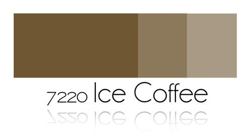 Color Painting - Ice Coffee