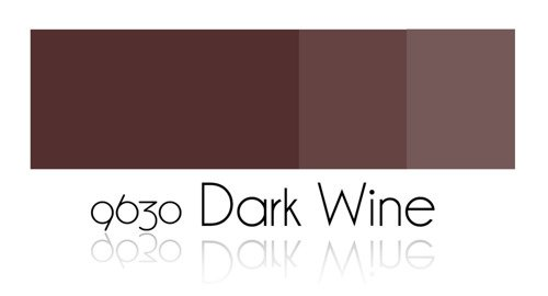 Color Painting - Dark Wine